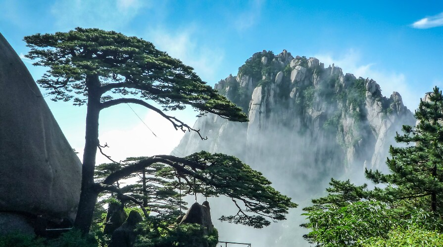 Top places to visit in May in China: Huangshan