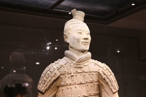 A Terracotta Army soldier