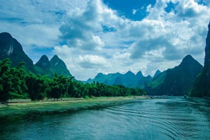 Karst Hills Along The Li River