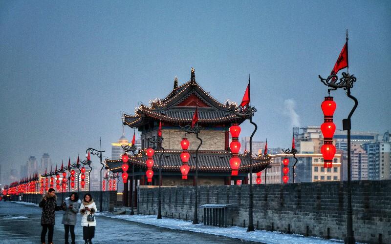 Xi'an Weather  in January