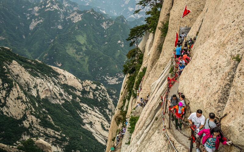 Mount Hua Hiking