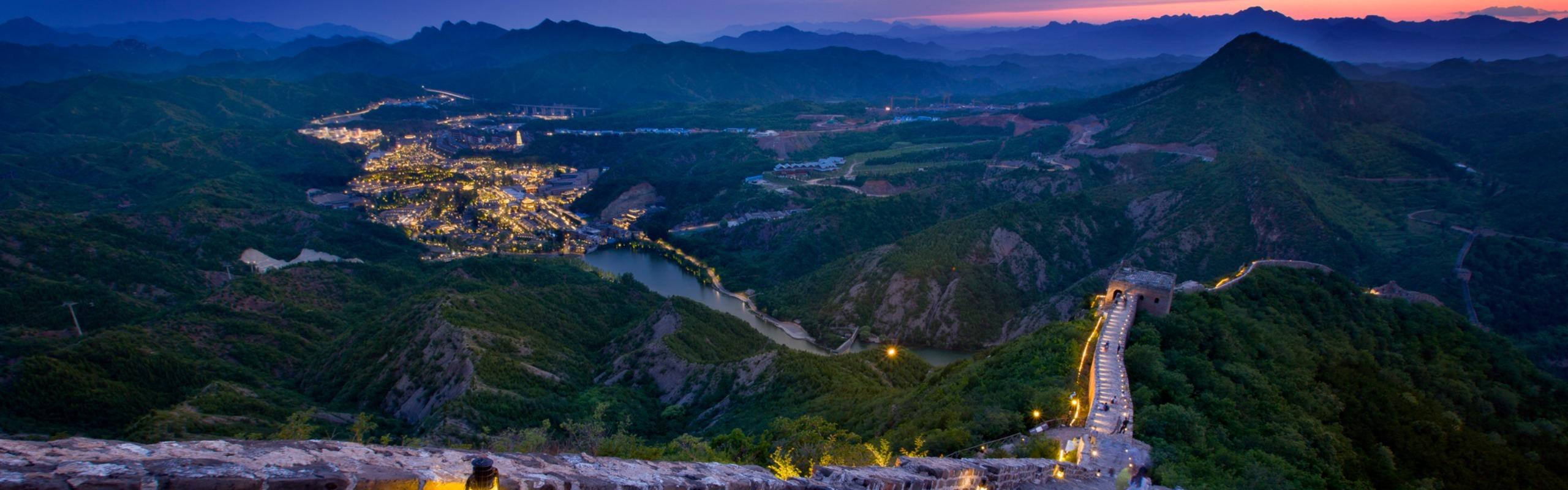 2-Day Great Wall Mutianyu-Simatai Day-Night Tour