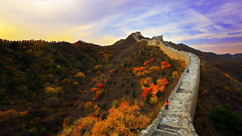 Beijing Great Wall in September