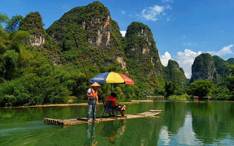 Top 4 Rivers for Summer Rafting around Guilin