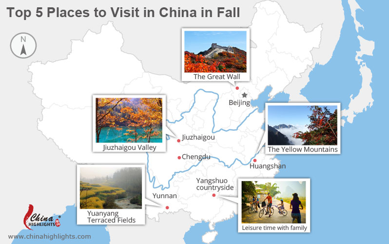 top places to visit in fall in china