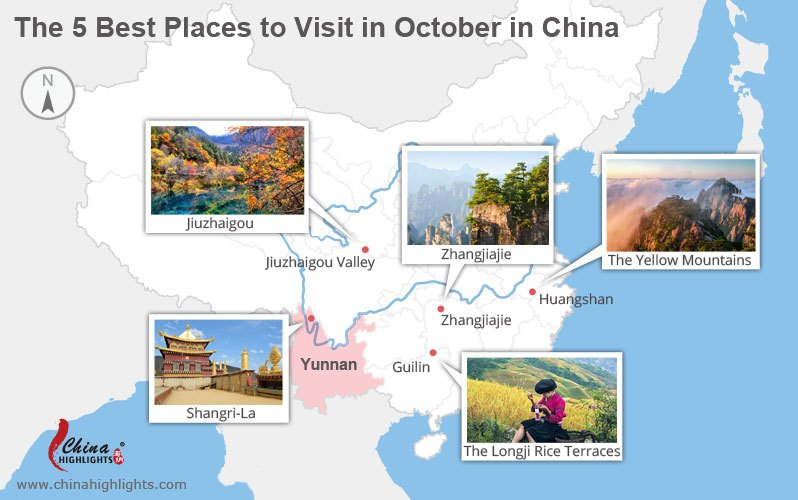 places to visit in october in china