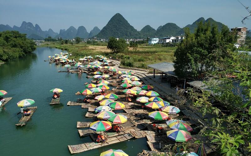 Yulong River Hiking in Yangshuo