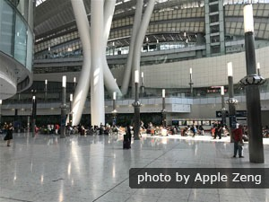 Hong Kong West Kowloon Station Lobby