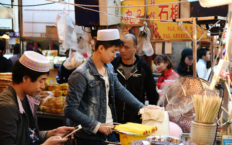 Muslim Food Street - One of the Best in China