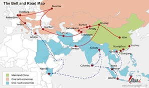 The New Silk Road — The Belt and Road Initiative