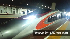 Hong Kong high-speed trains