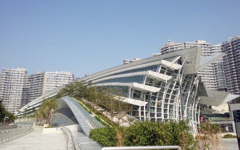 Hong Kong West Kowloon Railway Station