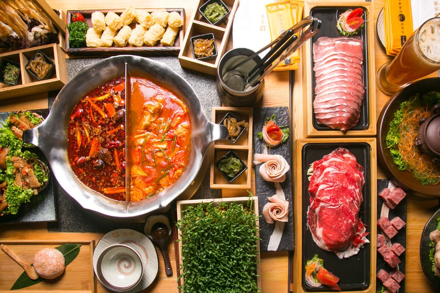 best chinese dishes: hot pot