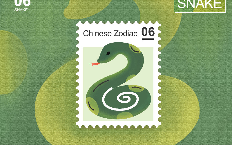 Chinese Zodiac Snakes of 5 Elements: Characters, Destinies
