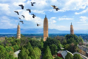 Buddhism in China, The Three Pagodas in Dali
