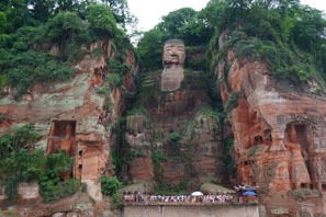The Leshan Giant Buddha is a must-see if travelling to Chengdu.