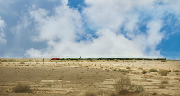 Train to Inner Mongolia