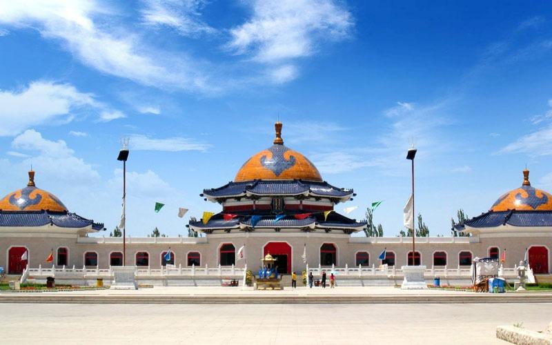 The Mausoleum of Genghis Khan