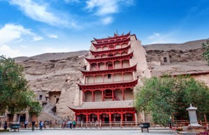 Buddhism in China, the Mogao Grottoes