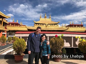 Tourists in Lhasa