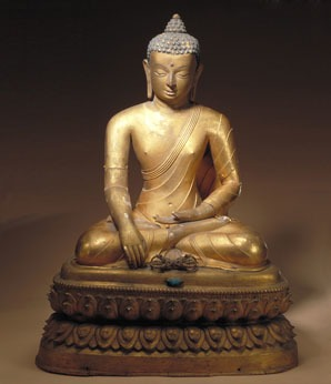 Buddhism in China, Gautama Buddha statue