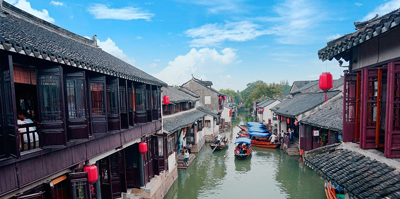 zhouzhuang, a best place to visit in march China