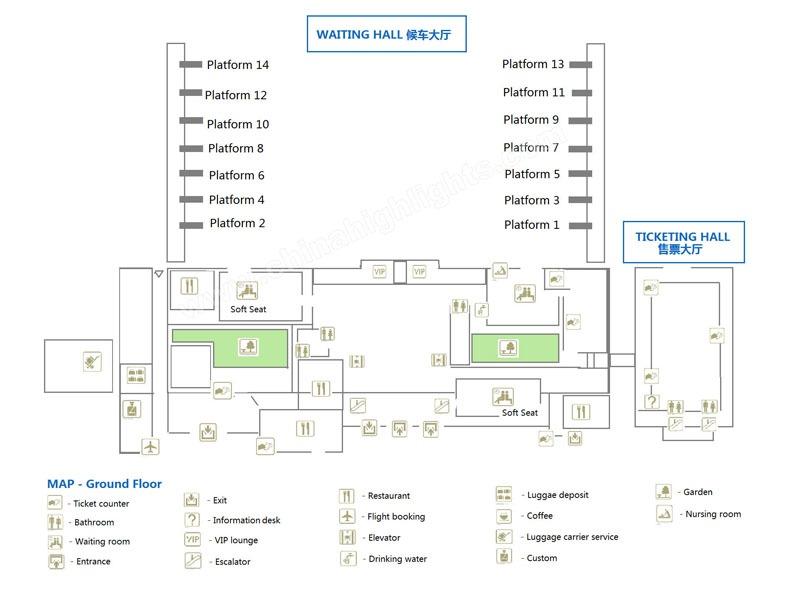 beijing-station-map