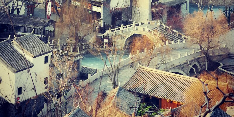 The view of the Gubei Water Town