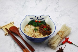 Hong Kong food:Beef brisket noodles