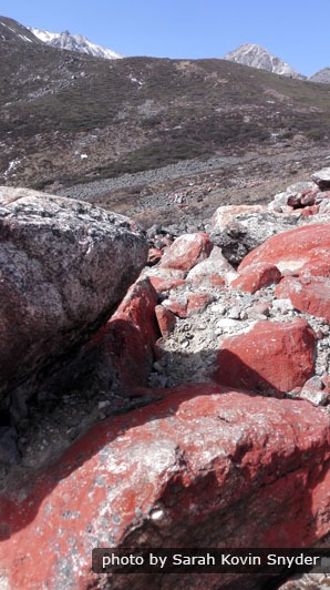 Red Stones in Western Sichuan