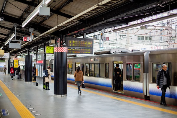 Trains Between Tokyo and Sapporo