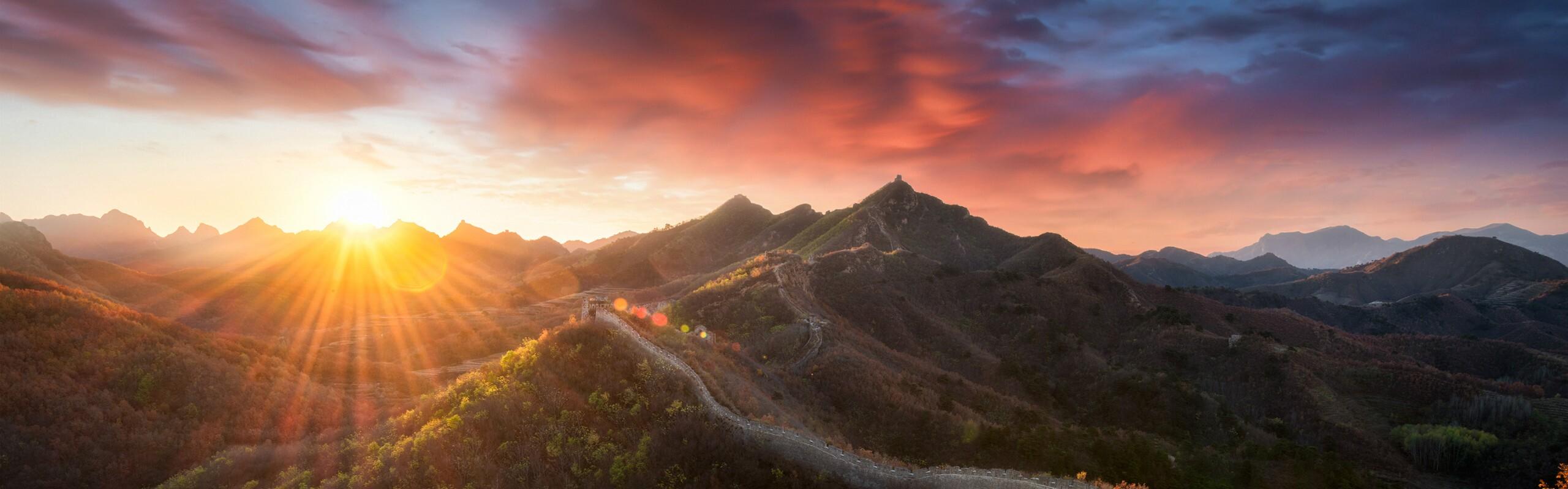 2 Days Mutianyu and Simatai Great Wall Night Tour