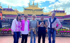 Clients of China Highlights Tour