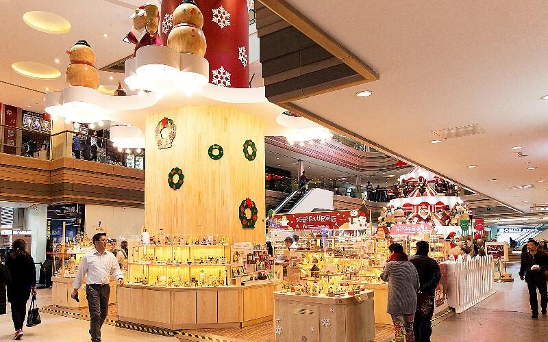 Christmas in Guangzhou in 2021