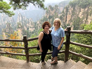 Touring Zhangjiajie with us.