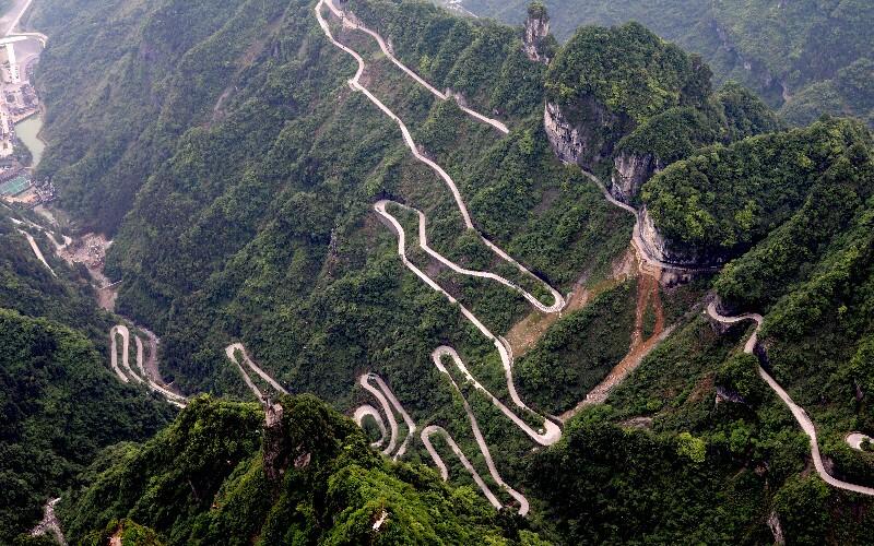 Zhangjiajie Maps
