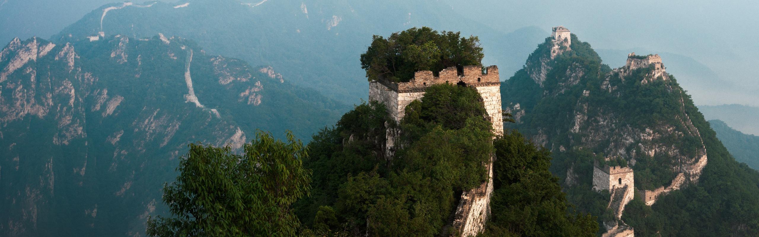 One Day Jiankou to Mutianyu Great Wall Hiking Tour