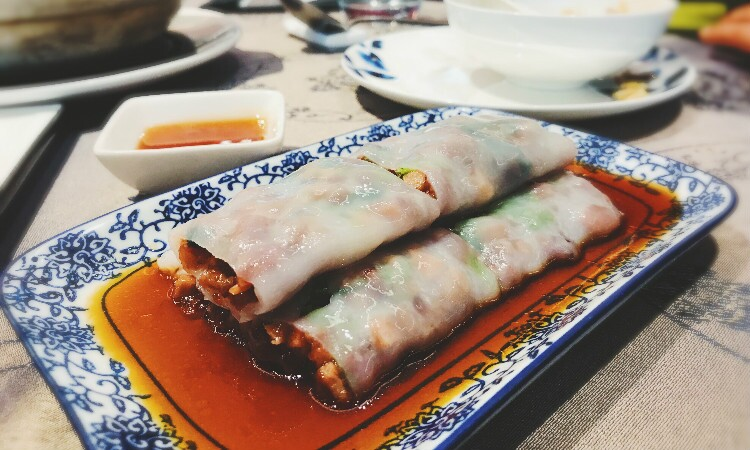 Steamed Rice Noodle Rolls, Guangzhou dim sum