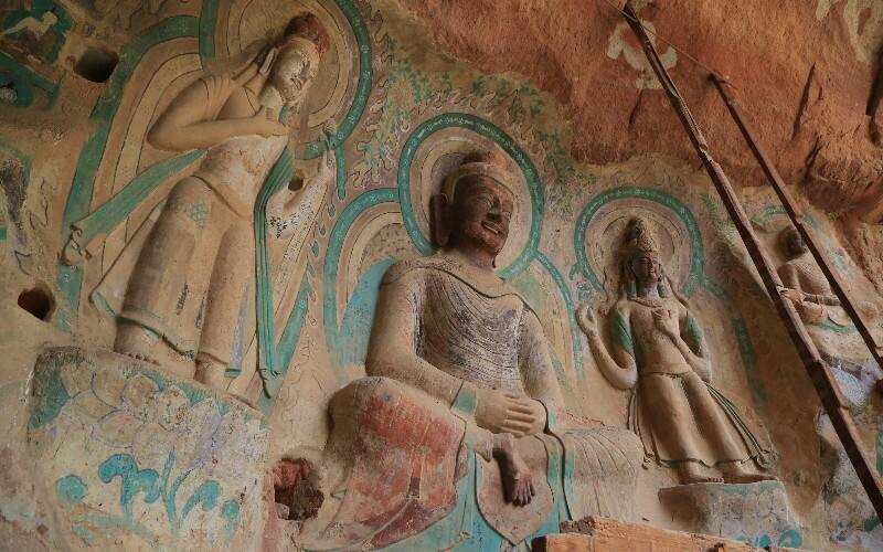 Bingling Thousand Buddha Caves