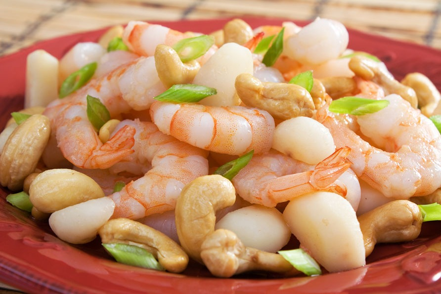 best chinese dishes: Fried Shrimp with Cashew Nuts