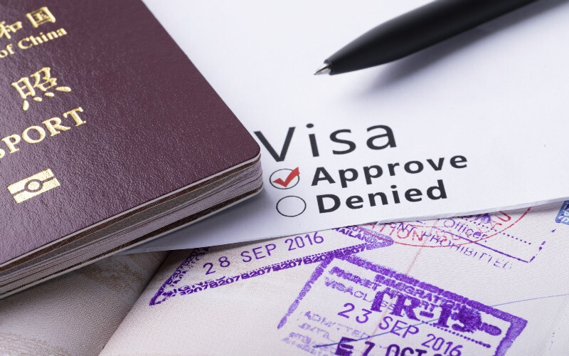 Applying to Visit Special Parts of China and SE Asian Countries