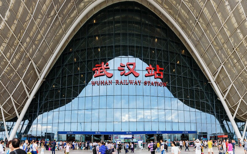 Guangzhou to Wuhan/Wuhan to Guangzhou Bullet Trains