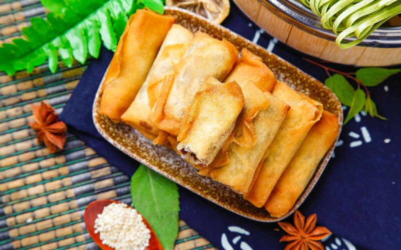 Spring Rolls — a Popular Chinese New Year Food