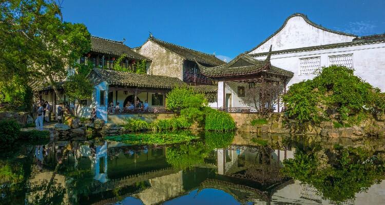 The Chinese Garden in Suzhou