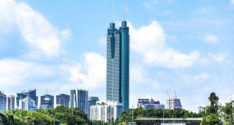 Edificio Diwang de Shenzhen