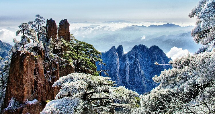 The Yellow Mountains under the Snow