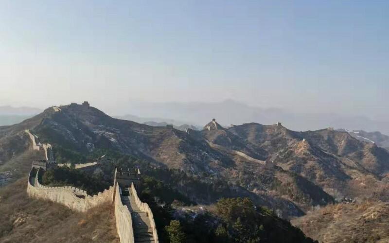 The Great Wall at Yanmen Pass, Shanxi Province