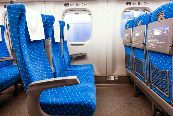 Seat Classes on Japanese Trains