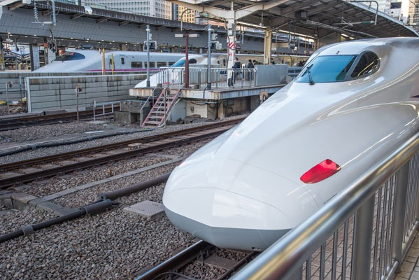 Trains from Tokyo to Hiroshima