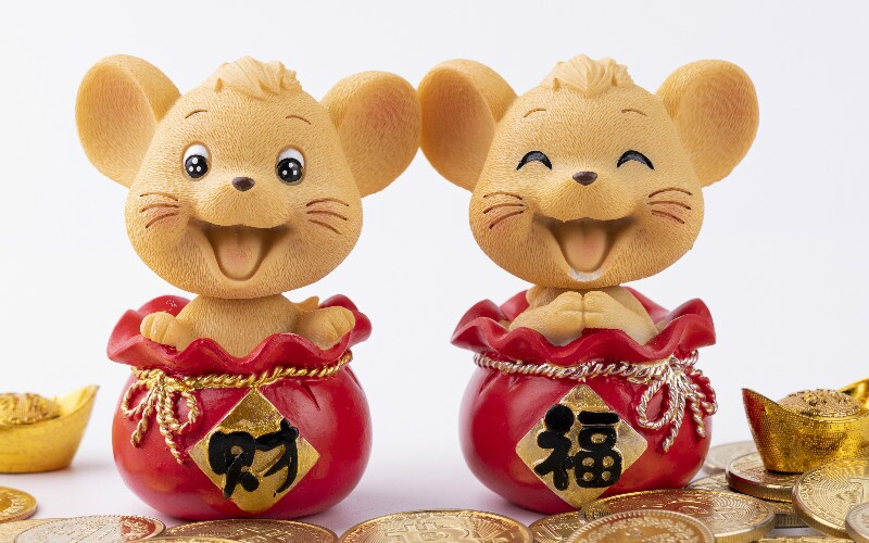 Chinese Zodiac Rats of 5 Elements: Characters, Destinies